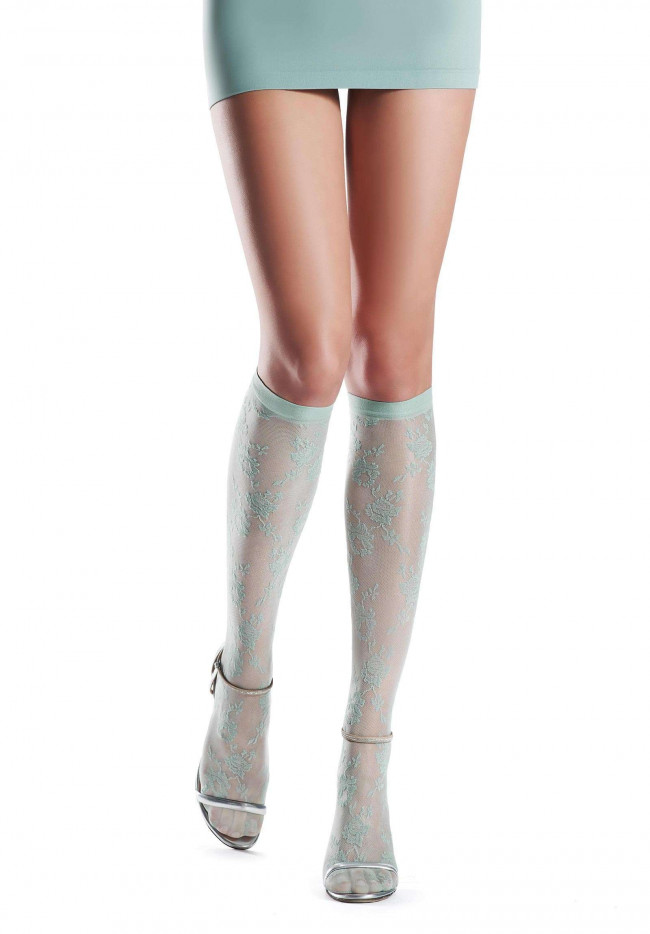 Knee-highs Floral Oroblu