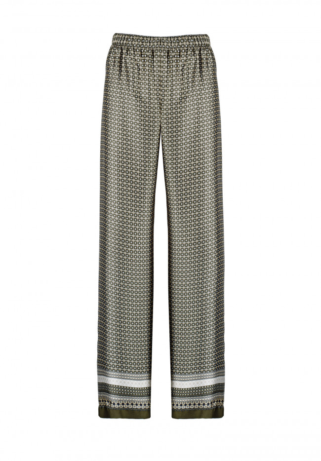 Pantalone In Raso Graphic