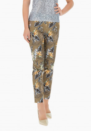 Hose mit Motiv Tropical Jungle