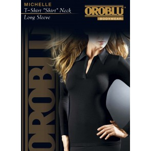T-Shirt Shirt Neck Long Sleeve Michelle Oroblu