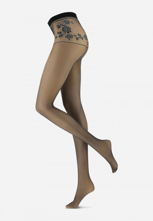 Strumpfhose in Lingerie-Optik My Sensuel 20