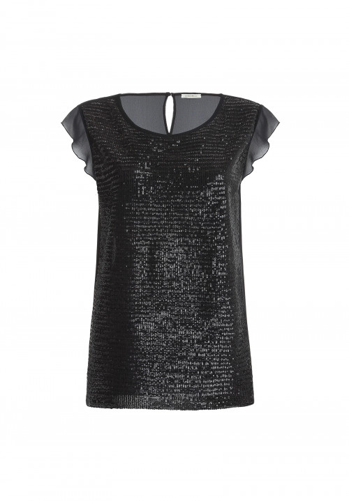 Blusa in paillettes SWEET DREAM