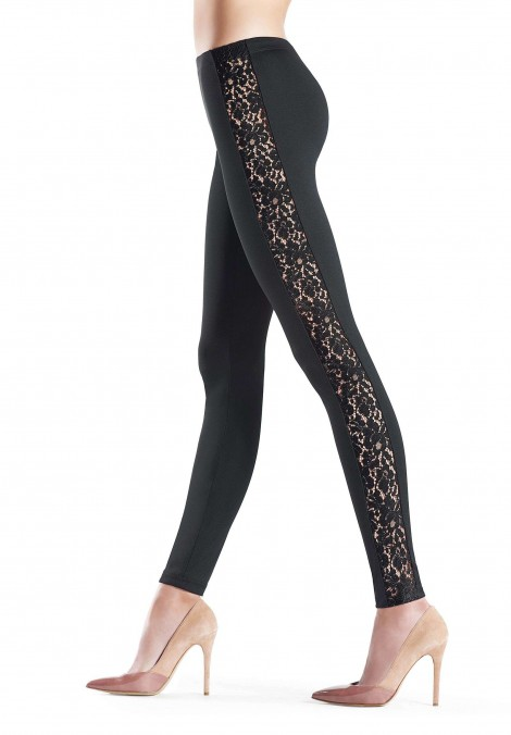 Jeggings Nude Band Roses