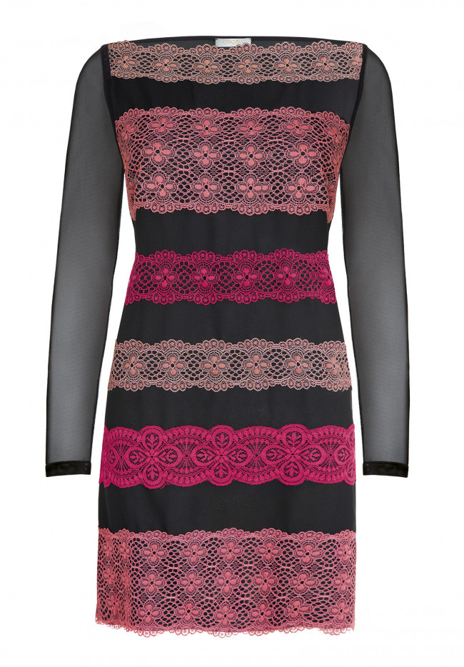 Maxi Blouse Graphic Holiday