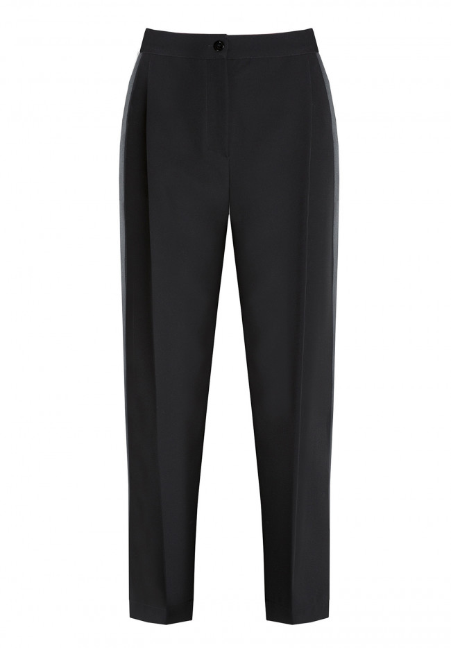 Trousers with pleats Solid Holiday