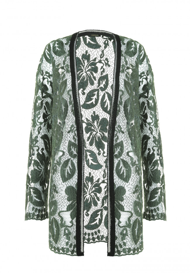 Cardigan Oversize DEEP FOREST