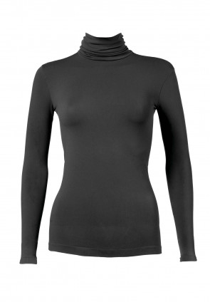 Turtle Neck Long Sleeves T-Shirt Dolcevita