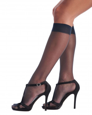 Knee Highs Geo 8 Bronzing Effect