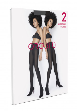 Twins Microfbre OPAQUE Tights -  2 Pairs