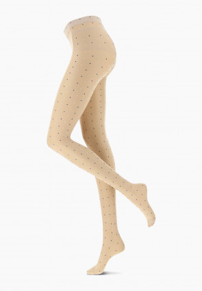 Bicolor Dot polka dot lingerie tights