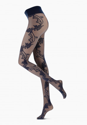 Freesia lace tights