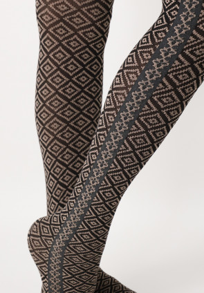 I Love Italy patterned tights