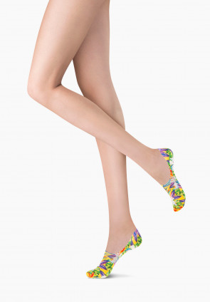Summery patterned foot protector