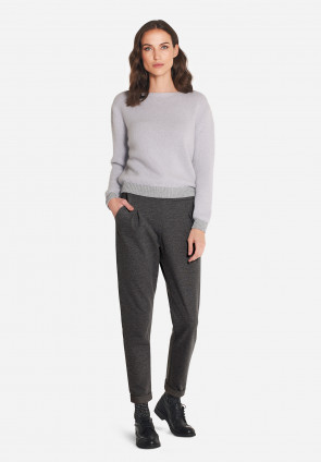 Ashbee angora sweater with lurex details