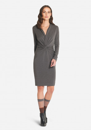 Montmartre micromodal and  wool midi dress