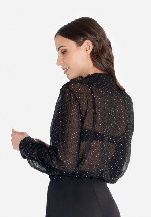 Pois shirt bodysuit Paris