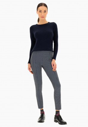 Corniolo pull on jacquard leggings