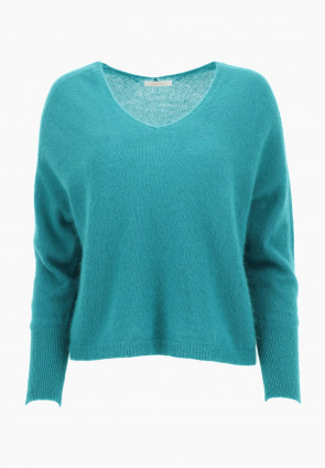 Cyclamen angora sweater