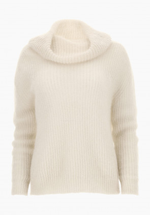 Lillà mohair sweater