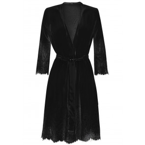 DAME Dressing gown in tulle and lace
