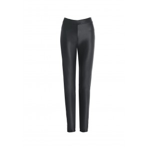 Jeggings in eco-pelle  DEEP FOREST