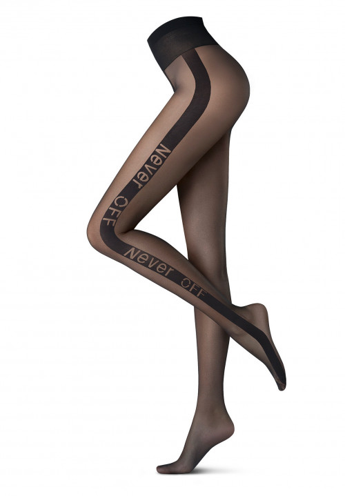 Tights Graphic-Never Off Holiday