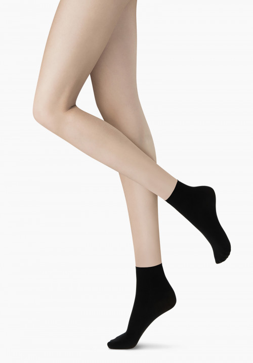 Twins Microfbre OPAQUE Socks -  2 Pairs