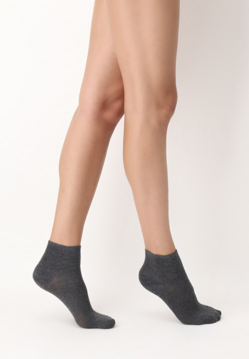 All Cotton Colors top-quality cotton ankle-length socks