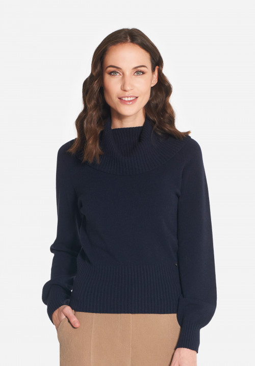 Tiffany wool-blend high neck sweater