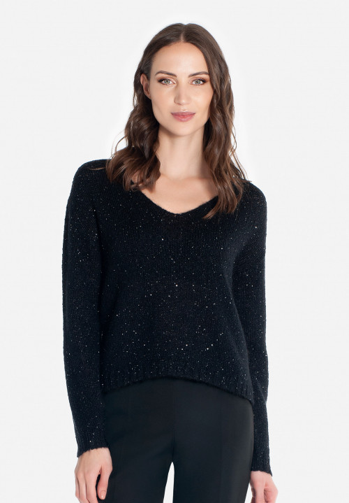 Pullover with micro sequins Berlin