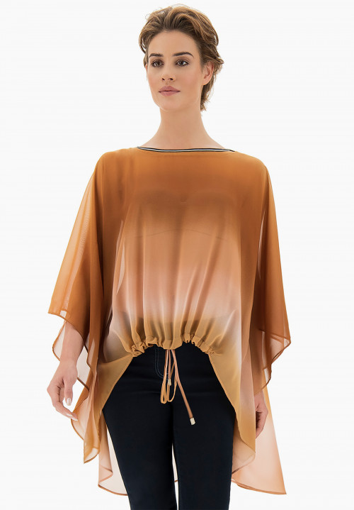 Paradise Shaded Poncho