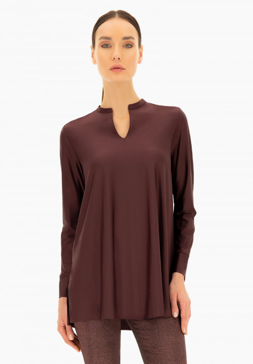 Silky touch maxi t-shirt