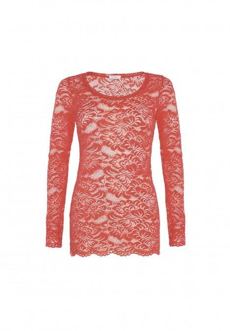 T-shirt in pizzo Amber Queen