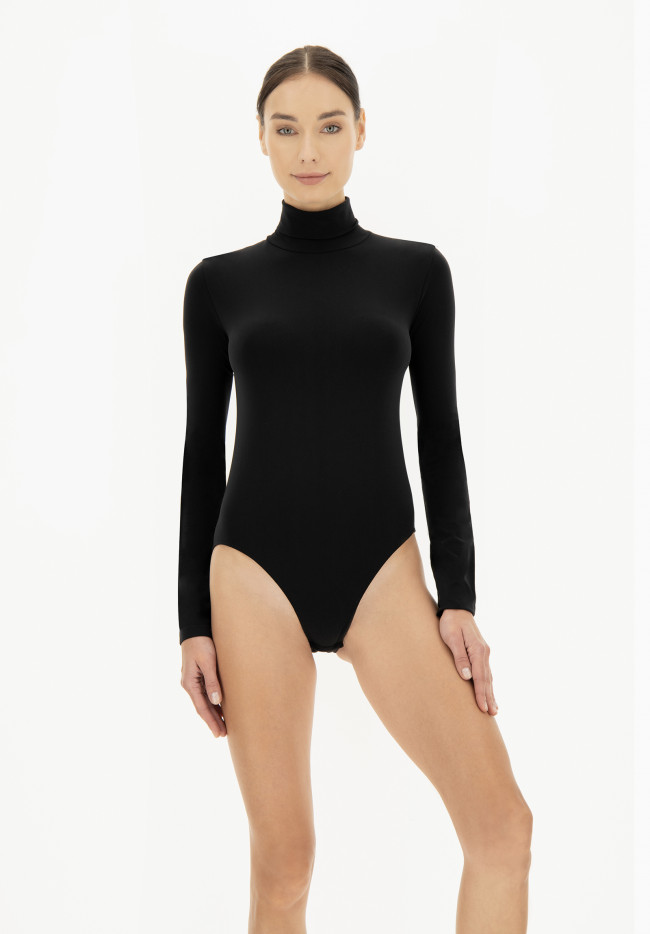 Body Turtle Neck Long Sleeve Dolcevita Oroblu