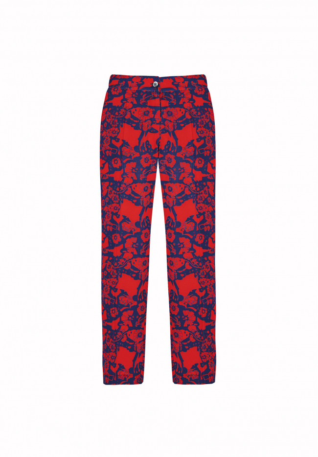 Pantalone Capri Abstract