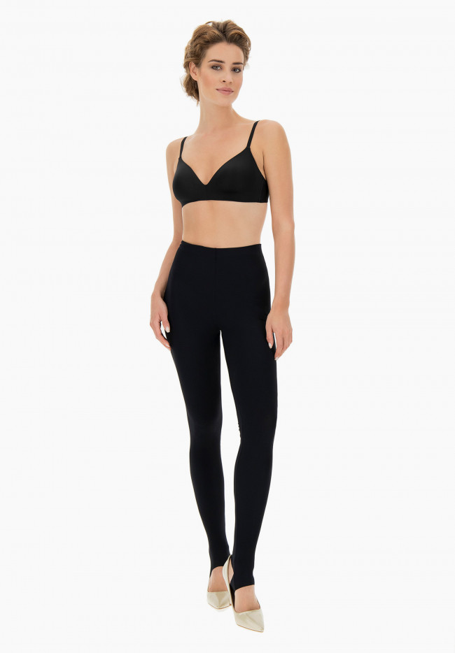 Jeggings stretch a vita alta Zenzero