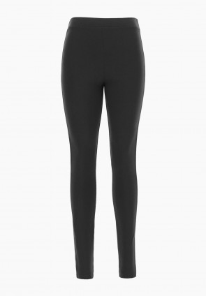 Leggings pull on inserti ecopelle Dandelion