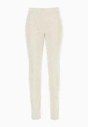 Leggings pull on in velluto Banksia