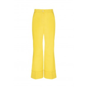 Pantalone in gabardine di cotone Golden Wings
