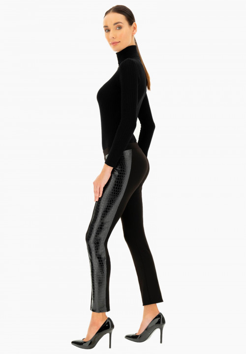 Leggings pull on insertato Callistemon