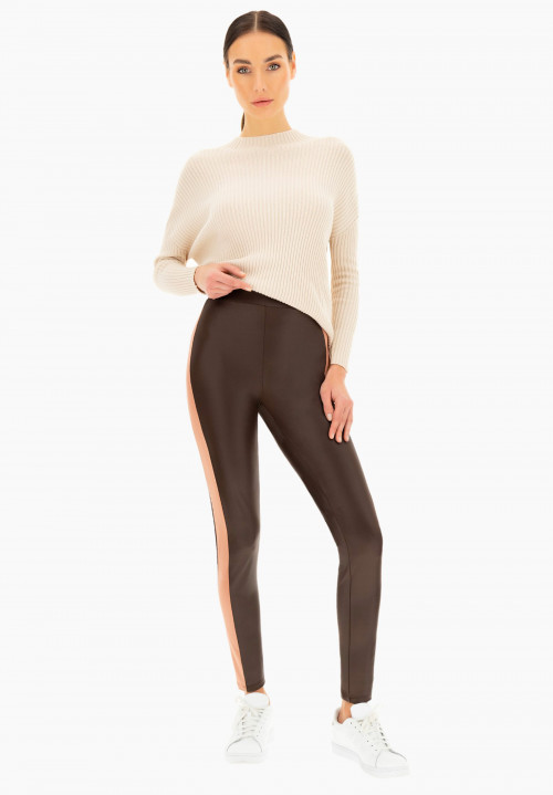 Legging pull on insertato Osmanto