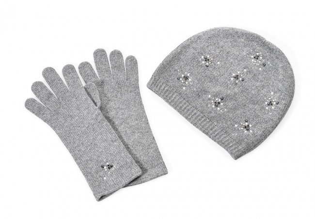 Cap and Gloves JFY Oroblu