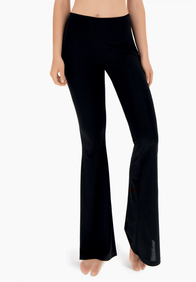 Beach rock flared trousers