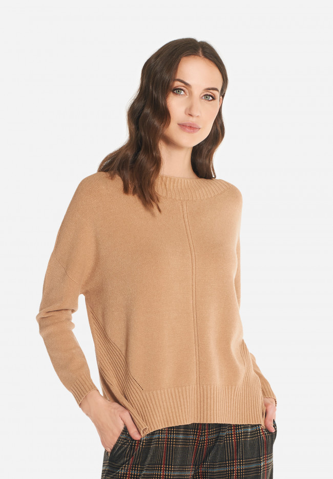 Soft wool-blend sweater