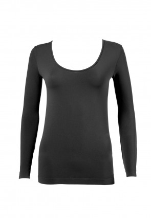 Round Neck Long Sleeves T-Shirt Dolcevita