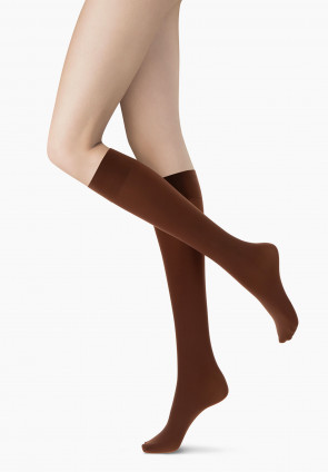 All Colors 50 opaque knee-highs