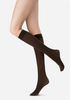 All Cotton Colors organic cotton knee-highs
