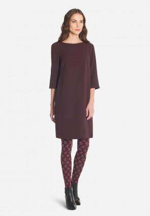 Vionnet 3/4 sleeves tunic dress
