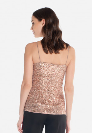 Sequins thin strap top London