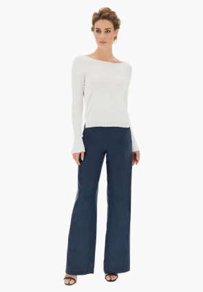 Columbine knit with tapered cuff